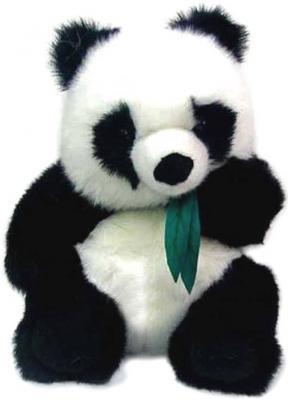 Мягкая игрушка панда Hansa Панда искусственный мех синтепон белый черный 45 см 2103 панда 30 см 4473