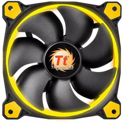Вентилятор Thermaltake Riing 12 LED 120x120x25 3pin 19.5dB Yellow + LNC CL-F038-PL12YL-A