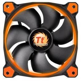 Вентилятор Thermaltake Riing 14 140x140x25 3pin 22.1-28.1dB Orange + LNC  CL-F039-PL14OR-A