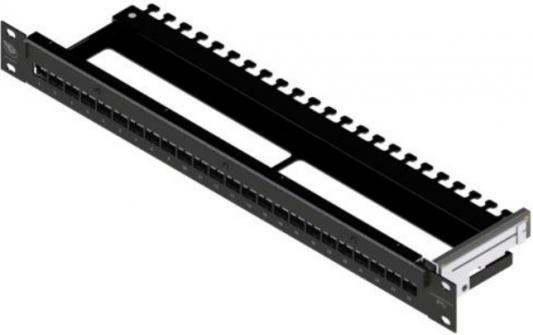 """Патч-панель Brand-Rex IPSPNLX24SIJ2M наборная 19"""" 1U 24xRJ45"""