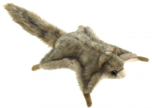 Мягкая игрушка белка Hansa Белка летяга искусственный мех серый 21 см 4116 мягкая игрушка белка hansa белка летяга искусственный мех серый 21 см 4116