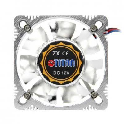 Вентилятор Titan TFD-A8025L12Z(RB) 80x80x25мм 3 pin 2000rpm