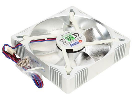 Вентилятор Titan TFD-A12025L12Z(RB) 122x122x25мм 3 pin 1800rpm