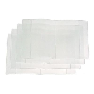 Обложка для тетрадей , п/эт., прозрачная, 50 мкм, разм. 210х350 *15.00т*