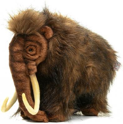 Мягкая игрушка мамонт Hansa Мамонт текстиль синтепон коричневый 32 см 4660