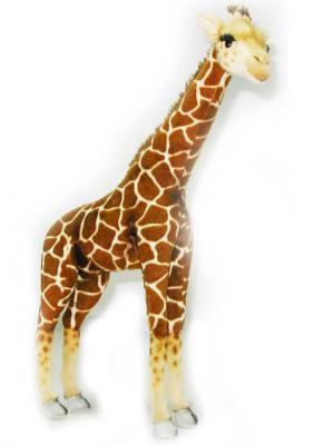 Мягкая игрушка жираф Hansa Жираф текстиль плюш разноцветный 64 см 3610 мягкая игрушка тарантул hansa 4729 19 см