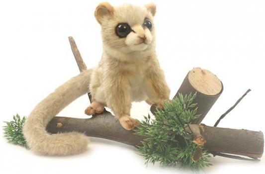 Мягкая игрушка лемур Hansa Мышиный лемур искусственный мех синтепон бежевый 14 см 5216