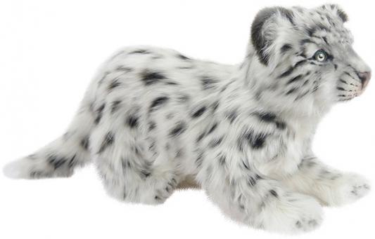 Мягкая игрушка барс Hansa Снежный барс стоящий искусственный мех серый 25 см 4567