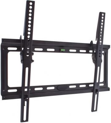 "Кронштейн Kromax IDEAL-4 черный до 22""-65"" настенный от стены 28мм  наклон 0°-15° VESA 400х400мм до 50кг"