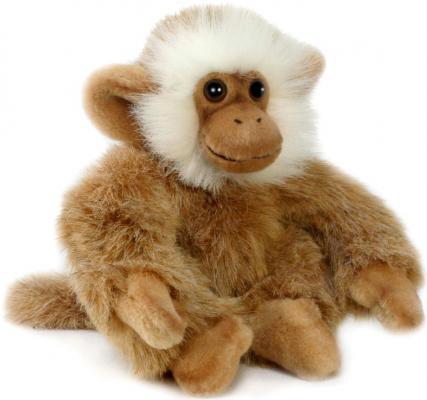 Мягкая игрушка обезьянка Hansa Обезьянка бежевая искусственный мех текстиль синтепон бежевый 20 см 2837О