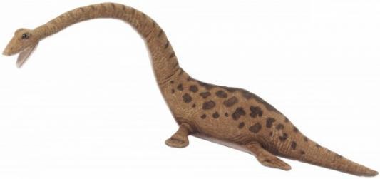 Купить Мягкая игрушка футабазавр Hansa Футабазавр искусственный мех синтепон коричневый 55 см 6120, искусственный мех, синтепон, Животные