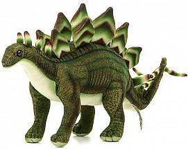 Купить Мягкая игрушка снеговик Hansa Стегозавр искусственный мех синтепон зеленый 42 см 6133, искусственный мех, синтепон, Животные