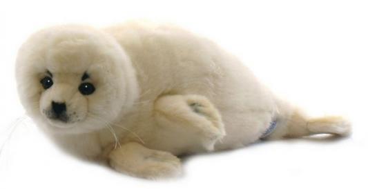 Мягкая игрушка белёк Hansa Белек искусственный мех белый 50 см 5653 Тюлень
