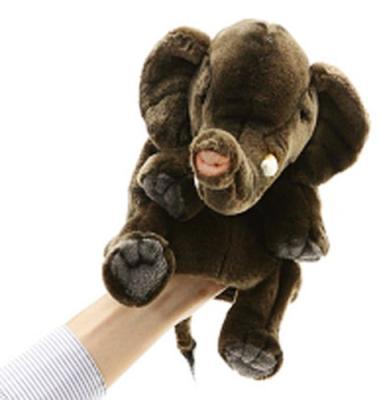 Мягкая игрушка слон Hansa 4040 плюш текстиль коричневый 24 см 4567