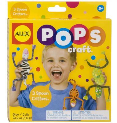 """Набор для творчества Alex POPS CRAFT """"3 веселые зверюшки"""" от 5 лет 1192"""