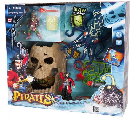 Игровой набор CHAP MEI Пираты. Битва с гигантским кальмаром 505204