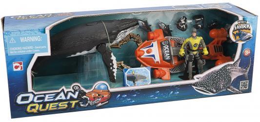 Набор фигурок Chap Mei Акванавт на скутере 523006
