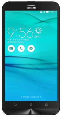 "Смартфон ASUS ZenFone DTV G550KL белый 5.5"" 16 Гб Wi-Fi GPS LTE 90AX0132-M02010"