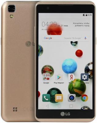 Смартфон LG X Power K220DS 16 Гб золотистый LGK220DS.ACISGD смартфон lg q6a 16 гб платина lgm700 acispl
