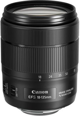 Объектив Canon EF-S IS USM 18-135мм f/3.5-5.6 черный 1276C005 объектив canon ef s usm 0284b007