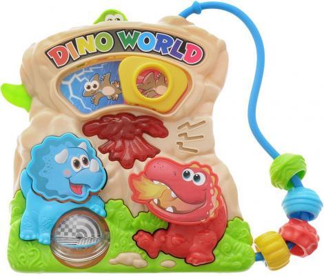 Развивающая игрушка PLAYGO Мир динозавров playgo развивающая игрушка мое первое пианино цвет желтый
