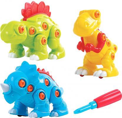 Развивающий набор PLAYGO Собери динозавра, 3 шт. 2040