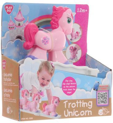 Развивающая игрушка PLAYGO Единорог с горкой 2355 набор для ванной playgo утята 2430