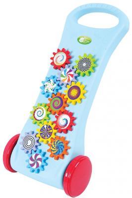 Каталка-ходунок Playgo 4892401025784 разноцветный от 1 года пластик каталка playgo play 1765 пластик от 1 года на колесах разноцветный