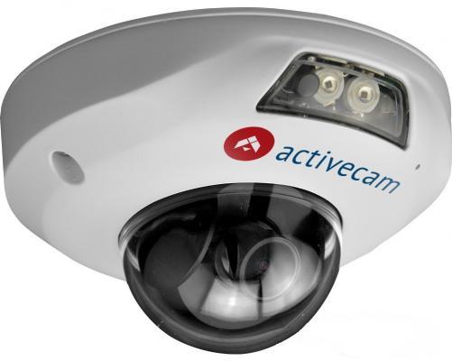 Камера IP ActiveCam AC-D4141IR1 CMOS 1/3'' 2592 х 1520 H.264 RJ-45 LAN PoE белый