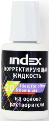 Корректирующая жидкость Index ICF20 20 мл стоимость