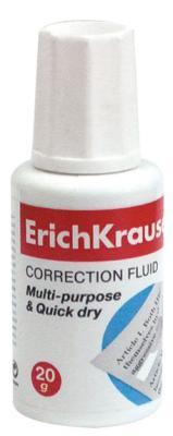 Корректирующая жидкость Erich Krause 5 20 мл erich krause угольник clear 60 градусов 225 мм