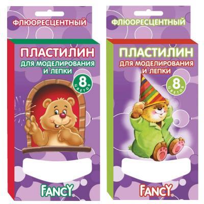 Пластилин Fancy FANCY 8 цветов FMC8-60 росмэн пластилин гадкий я 8 цветов