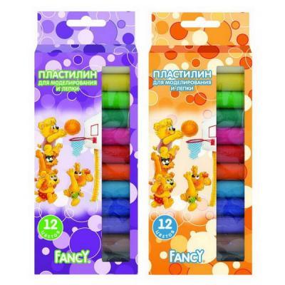 Набор пластилина Action! FANCY 12 цветов FMC12-120*