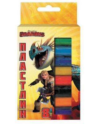 Набор пластилина Action! DRAGONS 8 цветов DR-AMC8-110