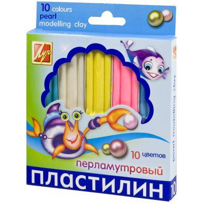 Пластилин Луч 21С1382-08 10 цветов пластилин луч кроха 5 цветов 25с1557 08