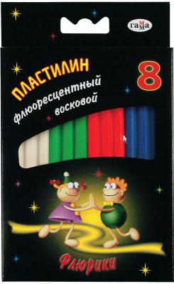 Пластилин Гамма ФЛЮРИКИ 8 цветов 280035Н