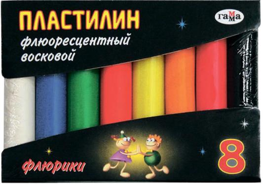 Пластилин Гамма ФЛЮРИКИ 8 цветов 281035 цена