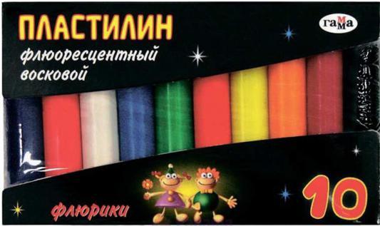 Пластилин Гамма ФЛЮРИКИ 10 цветов 281036