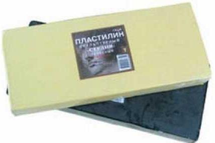 Пластилин Гамма СТУДИЯ 1 цвет 2.80.E100.001