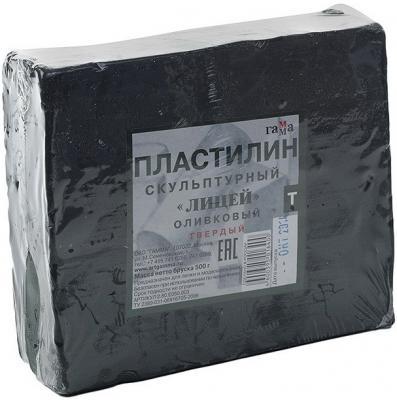 Пластилин Гамма ЛИЦЕЙ 1 цвет 2.80.Е050.003
