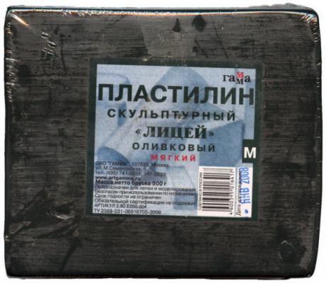 Пластилин Гамма ЛИЦЕЙ 1 цвет 2.80.Е050.004