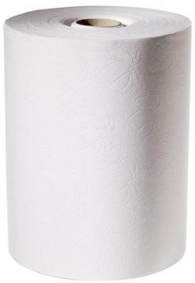 Полотенца бумажные TORK, H13, 2-сл., рулон, 143 м, белые с голуб. тисн. 471110