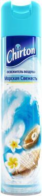 Картинка для Освежитель воздуха Эврика Эллас АО Chirton Морская свежесть свежий бриз 300 мл