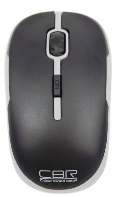 Мышь беспроводная CBR CM-420 серый USB игры