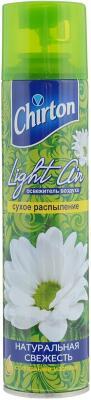Освежитель воздуха Эврика Эллас АО Chirton Light Air натуральная свежесть 300 мл сухое распыление бытовая химия chirton освежитель воздуха rio дыня 300 мл