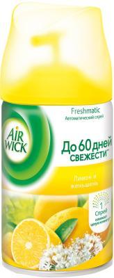 Освежитель воздуха БЕНКИЗЕР Airwick Лимон и женьшень 250 мл запасной блок