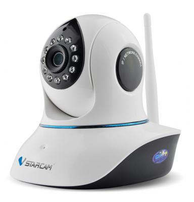 Камера IP VStarcam C8838WIP CMOS 1/3'' 1920 x 1080 H.264 RJ-45 LAN Wi-Fi белый vstarcam c7850wip 720p wireless outdoor ip camera white