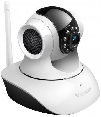 "Камера IP VStarcam C7835WIP CMOS 1/4"" 1280 x 720 H.264 RJ-45 LAN Wi-Fi белый"