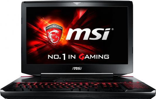 Ноутбук MSI GT80S 6QE-294RU Titan SLI 18.4 1920x1080 Intel Core i7-6920HQ 9S7-181412-294 titan sli