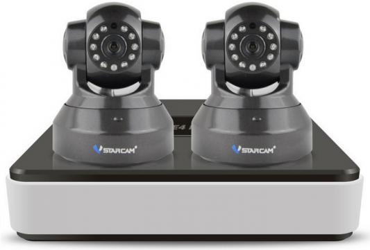 Комплект видеонаблюдения Vstarcam NVR-C37 KIT комплект видеонаблюдения vstarcam nvr c15 kit vstarcam n400p беcпроводная ip камера vstarcam c7815wip x2